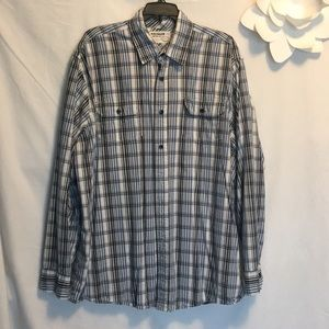 Donated Last day: 2/$5. Men's Button Shirt